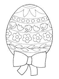 Egg Coloring Page To Print Designs Pages Awesome Fresh Easter