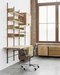 desk components for home office. The As4 Modular Furniture System Detail Of Home Office With Desk, Pencil Drawers, Cabinet, Decks, Storage Drawers And Bookshelves. Wood Components In Solid Desk For E