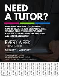 Home Tuition Advertisement Sample Tutor Flyer Sample Sample Tutoring