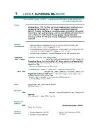 Nurse Educator Resume Objective Nursing Resume Skinalluremedspa Com