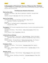 Mla Works Cited Page Template Lapos Co