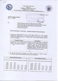 Teachers Fund Loan Chart D M No 64 S 2018 Deped Provident Fund Loan Revised