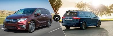 2019 Honda Odyssey Vs 2018 Toyota Sienna