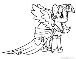 Twilight Sparkle Coloring Page Lovely My Little Pony Coloring Pages