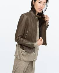 olive green leather jacket zara cairoamani com