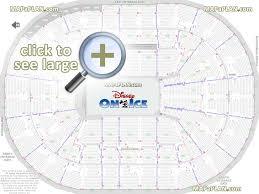 Disney On Ice Moda Center Seating Chart Moda Center Rose Garden Arena Seat Row Numbers Detailed