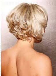 blonde retro wavy chin length bob view 2