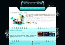 Art Gallery Website Template Free Red Portfolio Web