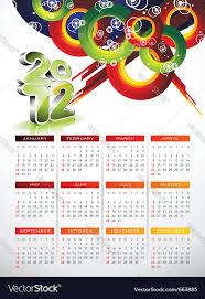 Calendar Design Calendar Design 2012 With Abstract Circle Design