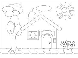 Dessin De Coloriage Maison Imprimer Cp16950