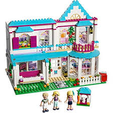 lego friends stephanie s house 41314 toy for 6 12 year olds