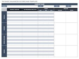 Scorecard Templates Excel Balanced Scorecard Examples And Templates Smartsheet
