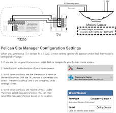 ta1 sensor w occupancy motion sensor Ceiling Occupancy Sensor Wiring Diagram the ta1 sensor connects over a 3 wire interface between itself and a ts200 the ta1 sensor can accept a 2 wire dry contact input from a motion sensor as leviton ceiling occupancy sensor wiring diagram