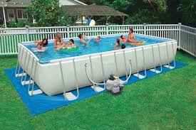 rectangle above ground swimming pool. Intex Rectangular Above Ground Swimming Pool Pools Rectangle M