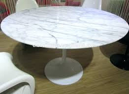 4116 stone international stripes l dining table rectangular white marble