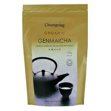 Clearspring Loose <b>Organic Genmaicha Brown</b> Rice Tea, 125 g