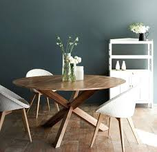 modern round dining table wood chairs bonfire furniture tables and