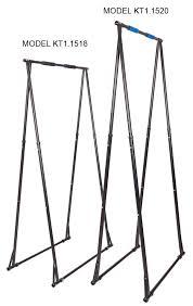 indoor outdoor free standing pull up bar model kt1 1520
