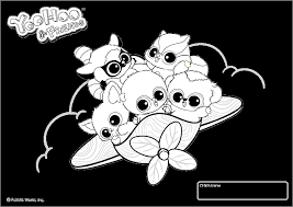 Beanie Boos Coloring Pages Fun Time