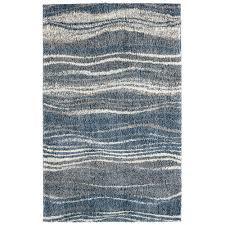 mohawk home madrid wave blue area rug 8 x 10