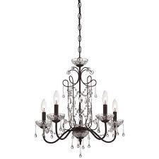 minka lavery aged kinston bronze five light chandelier