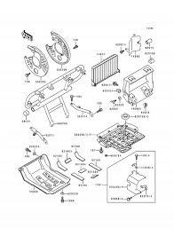 1994 kawasaki bayou 400 4x4 klf400b guard(s) parts best Automotive Wiring Diagrams at 1994 Klf400b Wiring Diagram