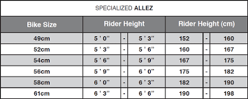 54cm Road Bike Size Chart Giant Bike Sizing Best Bike Accessories Online