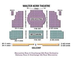 Punctual Walter Kerr Theatre Seating Walter Kerr Theatre
