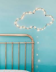 ... Funky Lights For Bedroom Trends Also Fairy Light Ideas Inspiration  Picture Cloud Wall ...
