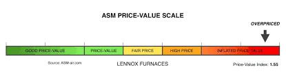 lennox merit series furnace. lennox furnace price value scale merit series n