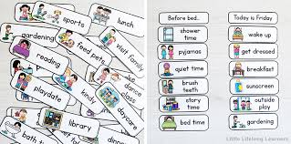 Printable visual daily routine preschool / create a daily schedule for kids with these free printables hey donna : Daily Routine Charts For Kids Little Lifelong Learners