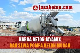 Daftar harga beton ready mix jayamix terbaru 2021. Harga Cor Jayamix Bekasi Timur Kota Bekasi Jasa Beton