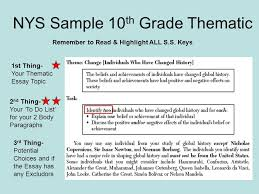 global history thematic essay thematic essay topics under fontanacountryinn com