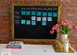 How To Make A Goal Chart How To Keep Those New Years Resolutions Diy Sticky Note