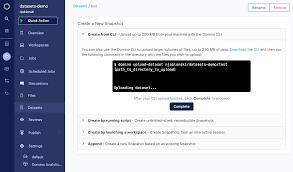 A clojure/script data flow engine. Datasets Overview Domino Docs 4 3 2 Documentation