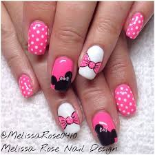 minnie mouse finger nail art the ultimate list of minnie mouse craft ideas party