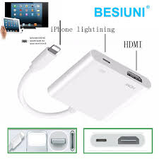 lighting to hdmi hdtv tv digital cable adapter for apple iphone 5 5s 6 6s