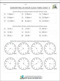 Hour To Converter Math Converting Time Challenge Cards