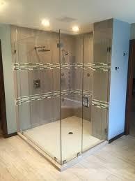 frameless glass shower door photo gallery frameless feature