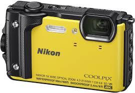 Купить Цифровой <b>фотоаппарат Nikon Coolpix W300</b> желтый в ...