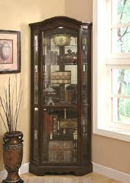 furniture curio wall cabinets elegant curio cabinets wall cabinet black with glass doors