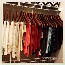 sweaters organized by color