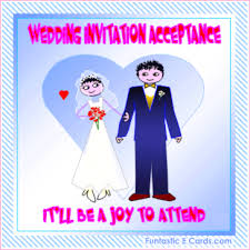 free animated all occasion *e acceptance cards* engagement Animated Wedding Invitation Templates Free Download wedding invitation acceptance card free animated blushing bride with groom acceptance card Downloadable Wedding Invitation Templates