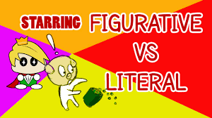 literal language figurative vs literal language