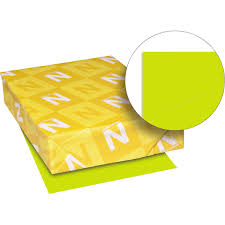 Neenah Astrobrights Paper Letter Lift Off Lemon 24lb 500ct