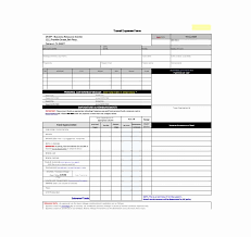 Travel Expense Form Template Ecux Eu