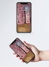 Roze Kersenboom Mobiel Behang Gratis Afbeeldingdownloaden