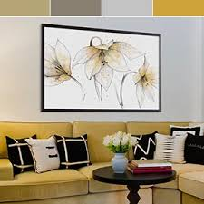 teal and gold gray and yellow art prints on black grey and yellow wall art with shop by color canvas art prints icanvas