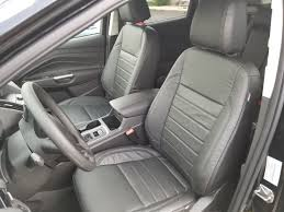 katzkin black repl leather int seat covers fit 2017 2018 ford escape se titanium 1 of 6only 2 available