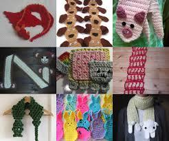 Free Diy Projects Diy 10 Free Crochet Animal Scarf Tutorials Diy Projects